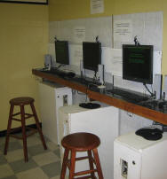 coin opreated internet cafe