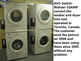 Turn Washer or Dryer into Coin operated